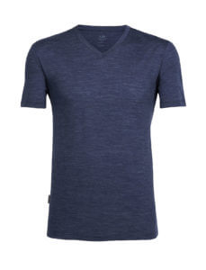 Men's Tech Lite Short Sleeve V-Neck by Icebreaker
