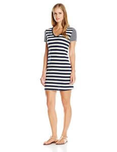 Icebreaker Tech Lite SS V Stripe Dress