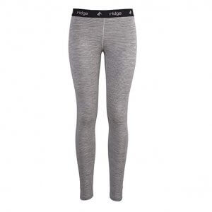 Long leggings for women from Ridge Merino Wool (Inversion Midweight Bottom with stripes)