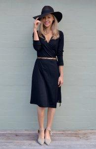 Smitten Merino Wrap Dress