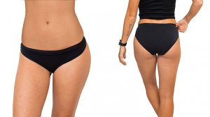 Woolx Roxie Women's Bikini Merino Wool Underwear in black