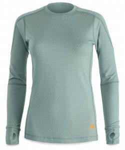Firstlite Women's Fuse Crew in Sage color