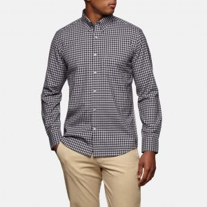 Wool&Prince Gingham pattern shirt