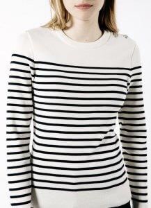 Saint James MAREE II Striped Sweater