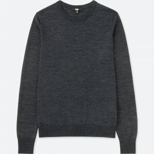 Uniqlo Women Extra Fine Merino Crew Neck Sweater