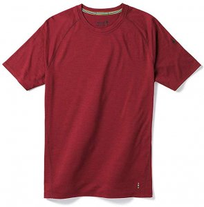 Smartwool Men's Short Sleeve Shirt 150 Wool in red